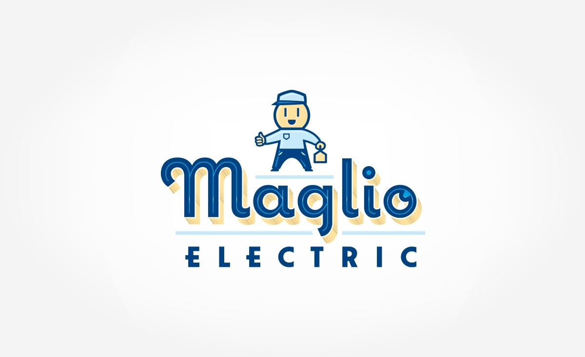 Maglio Electric Logo Design