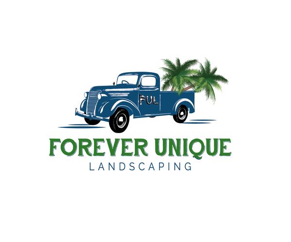 Forever Unique Landscaping Logo 15