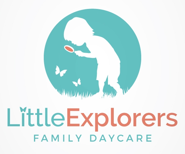 little explorers family daycare logo design 21