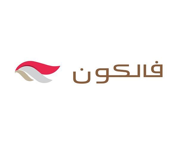 Falcon-arabic-callygraphy-logo-design