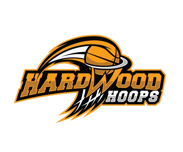 Logo Design 1 Hard Wood Hoops
