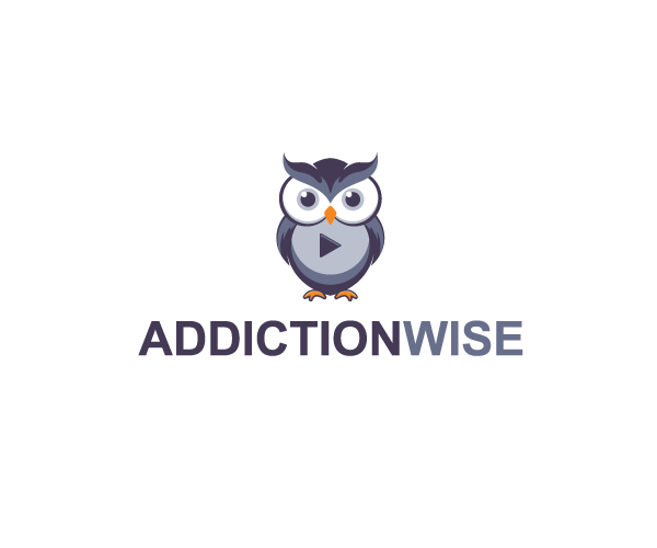 addiction-wise-logo-design-owl