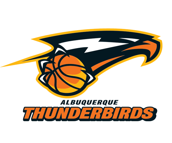 albuquerque-thunderbirds-basketball-logo