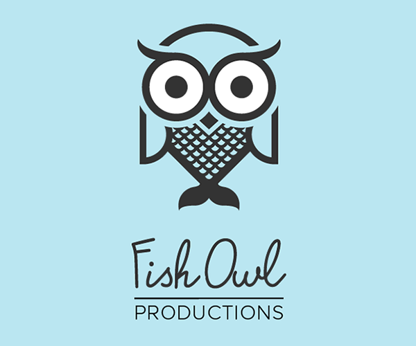 fish-owl-productions-logo-design