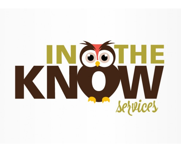 in-the-know-services-logo-design