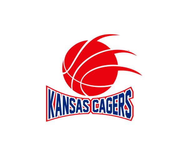 kansas-cagers-logo-design