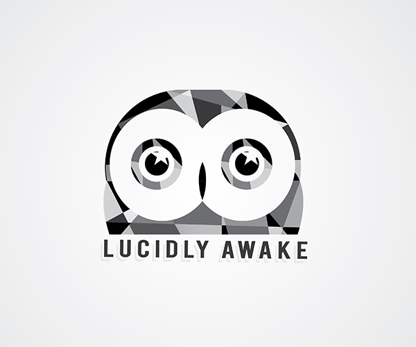 lucidly-awake-logo-design