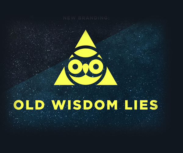 old-wisdom-lies-logo-design