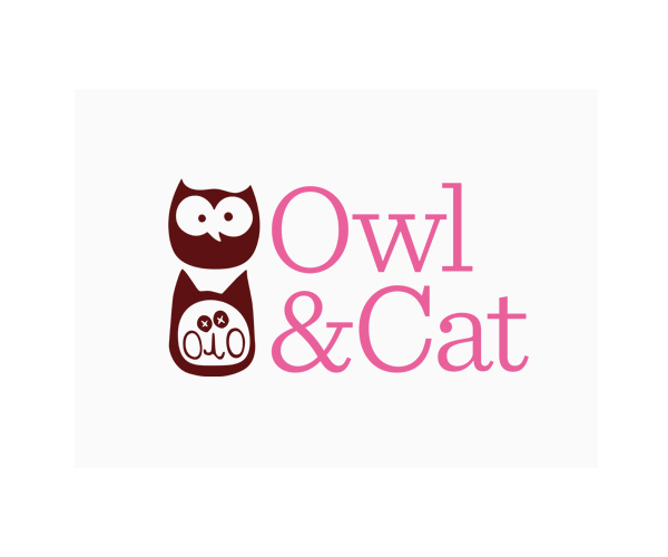 owl-and-cats-animal-logo-design-in-uk