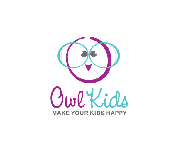 owl-kids-Top-UK-Logo-Design