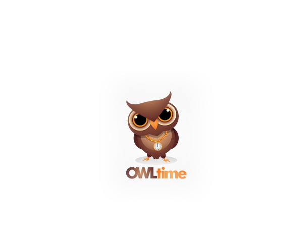 owl-time-logo-design