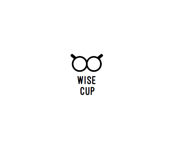 wise-cup-logo-design