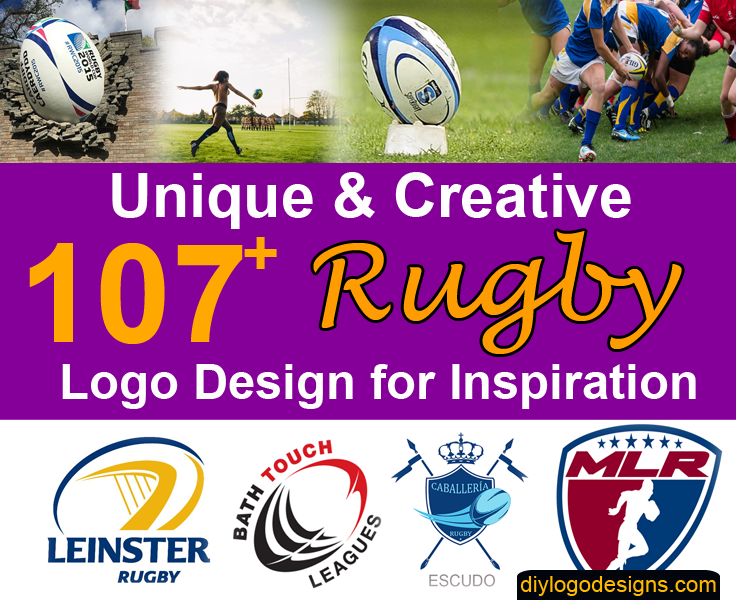 107+ Awesome Rugby Logo Design Inspiration