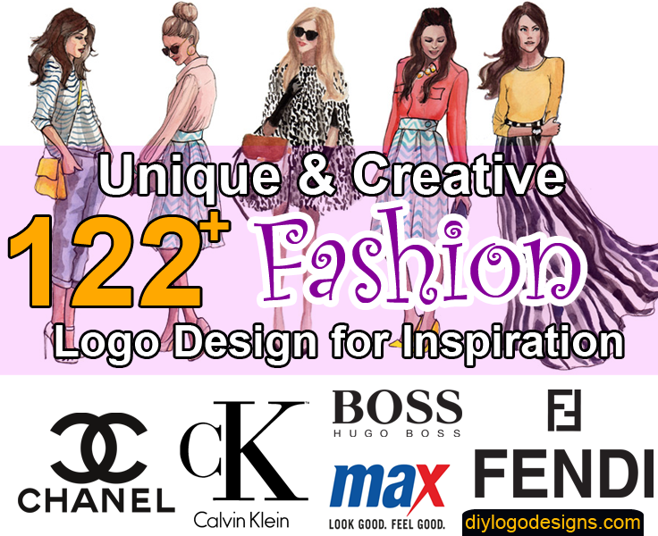 122+ Famous Fashion Logo Design Inspiration & Brands