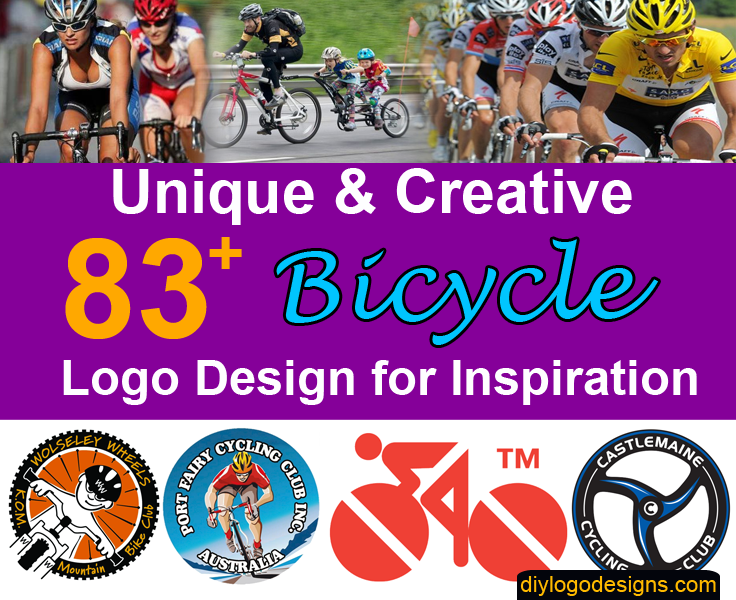83+ Best Bicycle Logo Designs for Inspiration