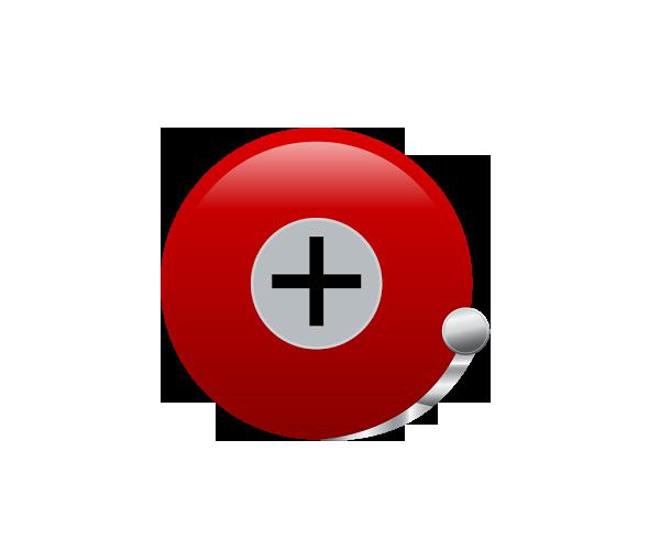 Alarm-Clock-Plus-icon-logo-design