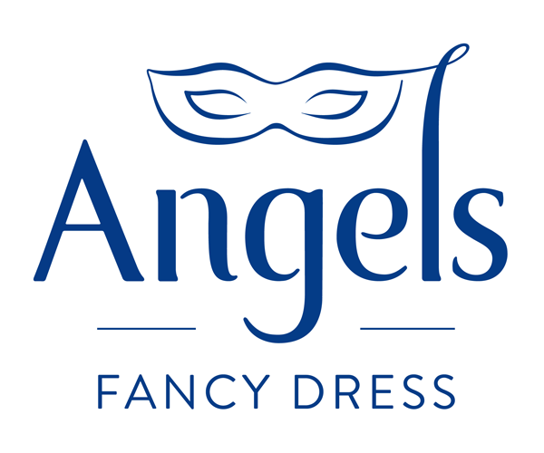 Angels-fancy-dress-logo-design