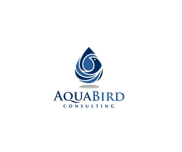 Aqua-Bird-Consulting-logo-design-company