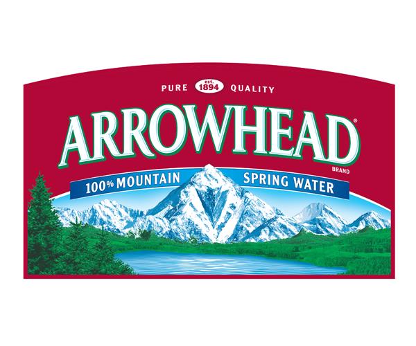 Arrowhead-Mountain-water-logo-design-for-company