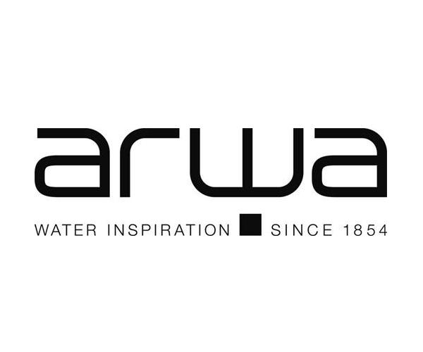 Arwa-water-logo-design