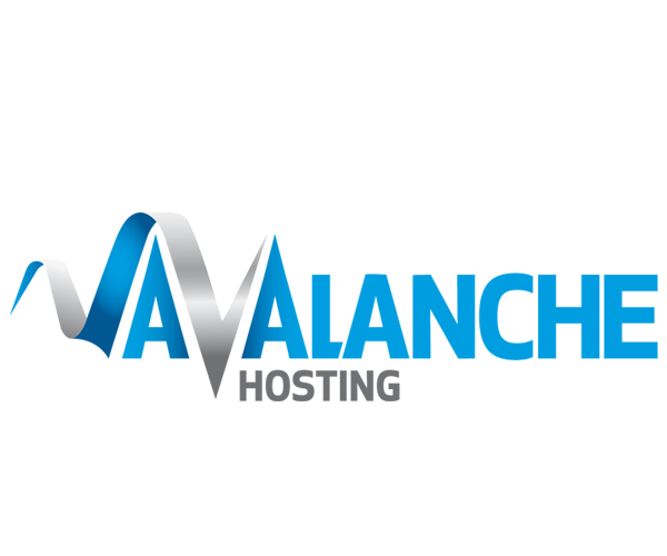 Avalanche-Hosting-uk-logo-design