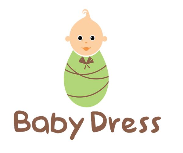 Baby-Dress-Logo-design