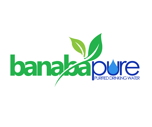 Banaba-Pure-Water-Refilling-business-logo-design