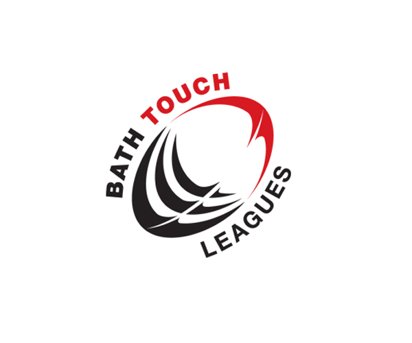 Bath-Touch-Rugby-League-logo-design