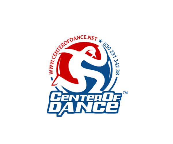 CENTER-OF-DANCE-logo-design