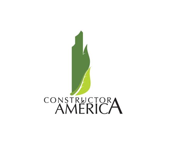 Constructora-America-logo-design