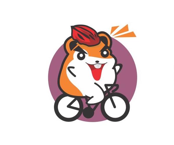 Cycling-funny-logo-design-uk