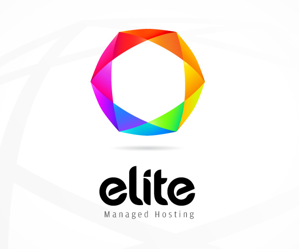 Elite-Managed-Hosting-logo-design