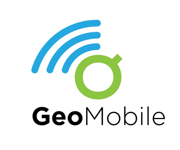 Geo-mobile-download-logo-design