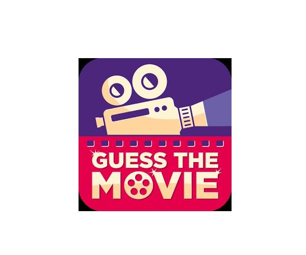 Guess-The-Movie-Quiz-logo-designer-USA