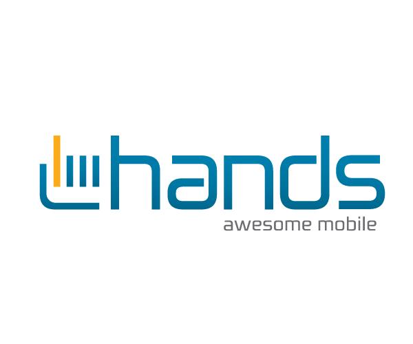 Hands-mobile-logo-design