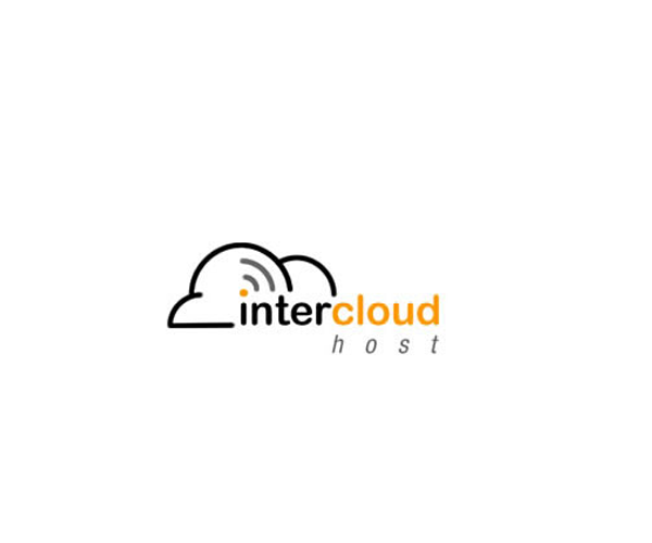 Inter-Cloud-Host-logo-design