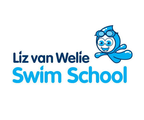 Liz-van-Welie-Swim-School-logo-design