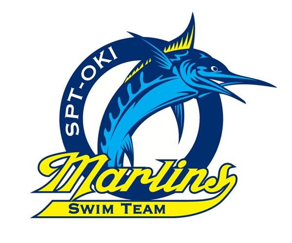 Marlins-Swim-Team-logo-design