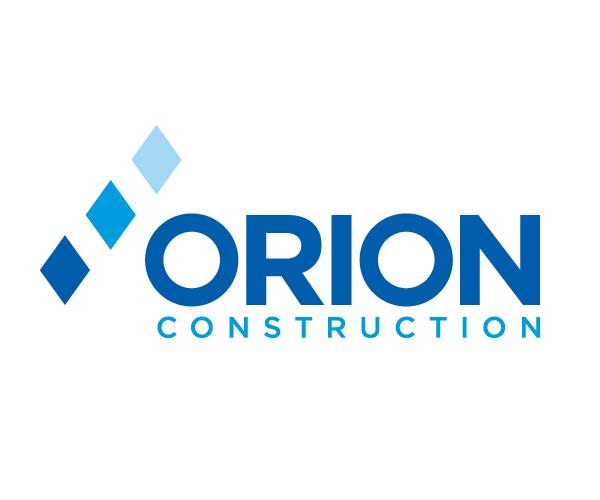 Orion-Construction-company-logo-design