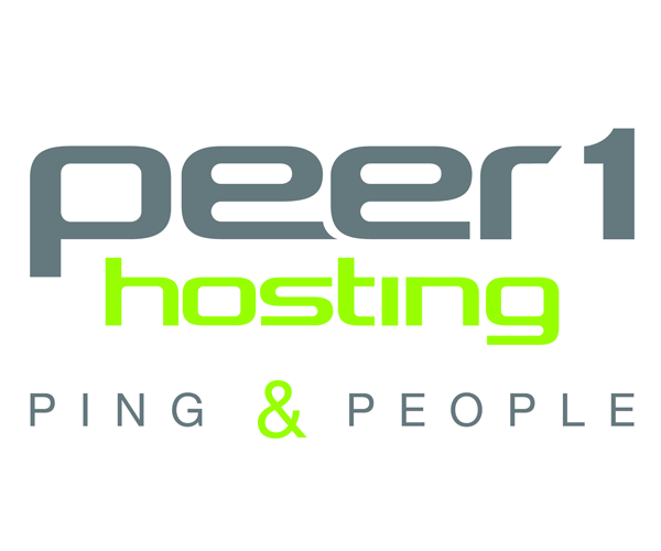 PEER-1-Hosting-Logo-design