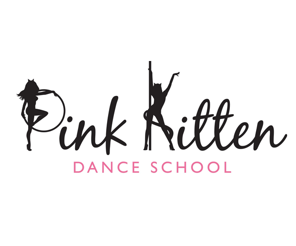 Pink-Kitten-Dance-School-logo-design-uk
