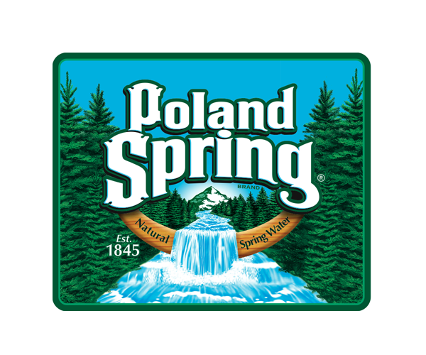 Poland-Spring-water-of-North-America-logo-design