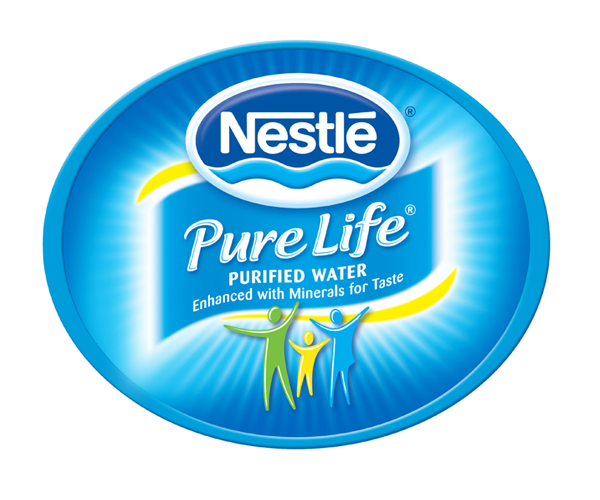 Pure-Life-Purified-Water-logo-design