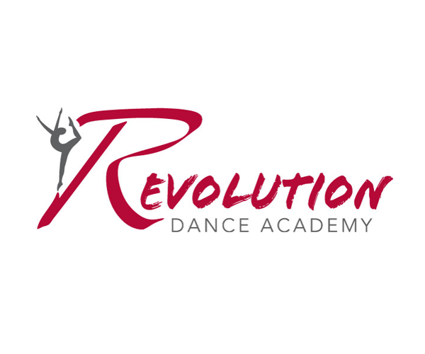 Revolution-Dance-academy-logo-design