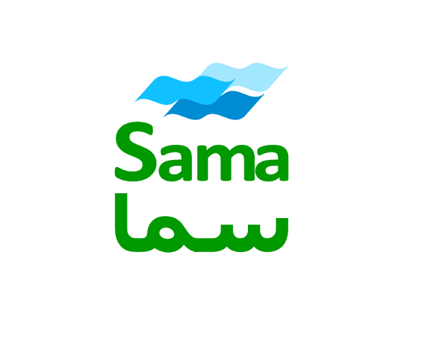 Sama-Water-dubai-logo-designer