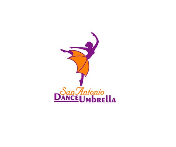 San-Antonio-Dance-Umbrella-logo-design