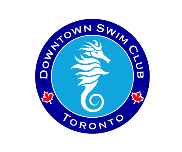 Toronto-downtown-Swim-Club-logo-design