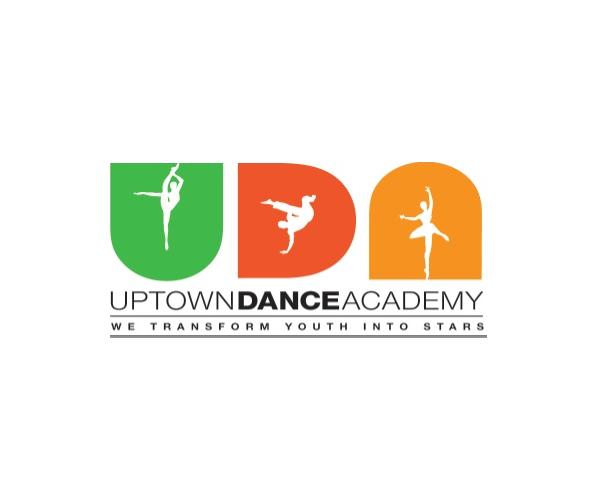Uptown-Dance-Academy,-NYC-logo-design
