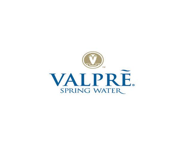 Valpre-spring-water-logo-company