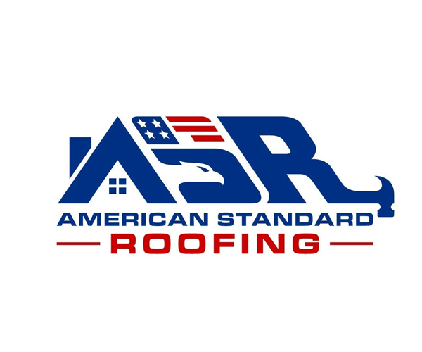 american-standard-roofing-logo-design